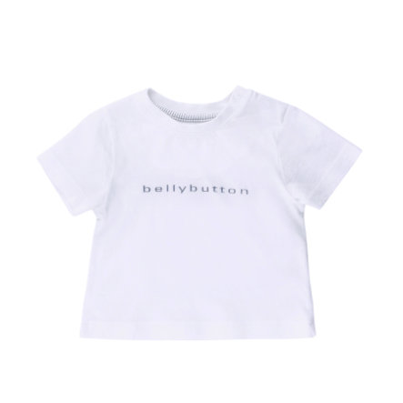 BELLYBUTTON Baby T-Shirt GAME & FUN asphalt melange