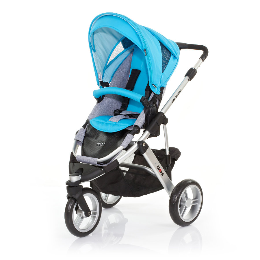 ABC DESIGN Pushchair Cobra rio Frame silver / graphite Collection 2015