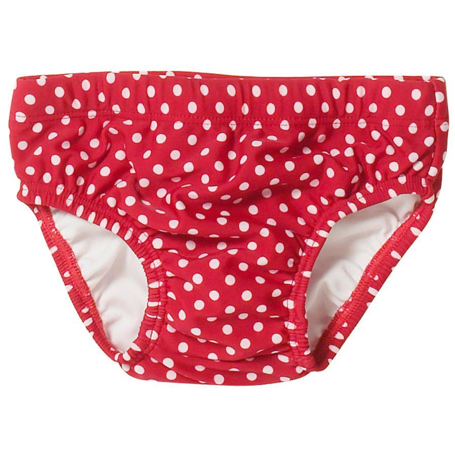 PLAYSHOES Girls UV-ochrana,koupací pleny PUNKTE červené