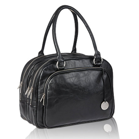 LÄSSIG Change Bag Tender Multizip Bag black
