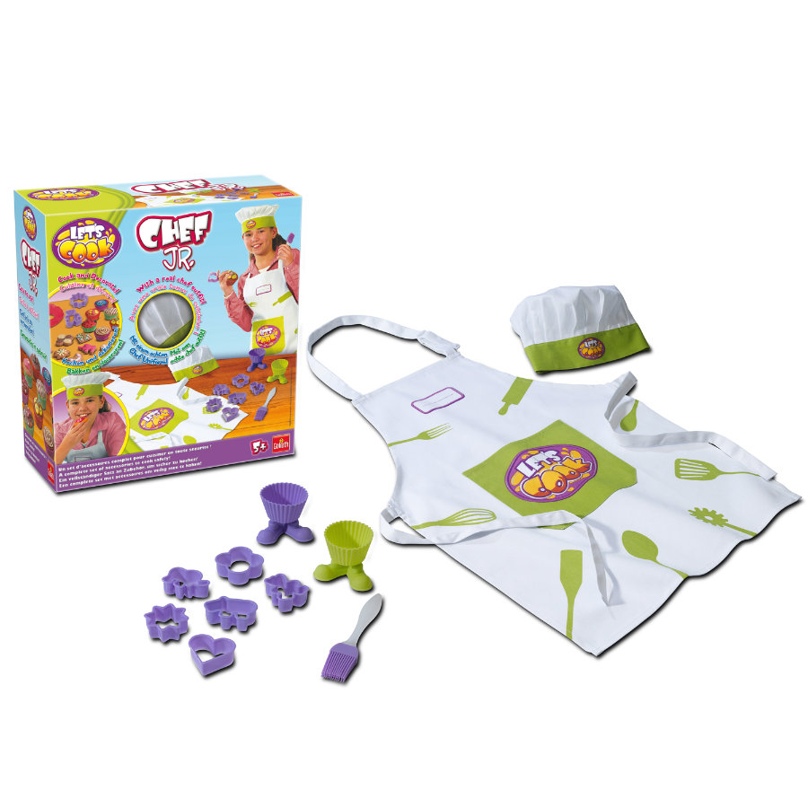 GOLIATH Let's Cook - Little Chef Keukenset
