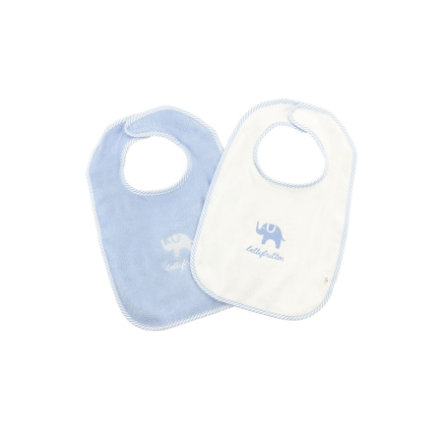 bellybutton Boys Baby 2er-Set Lätzchen skyway blue