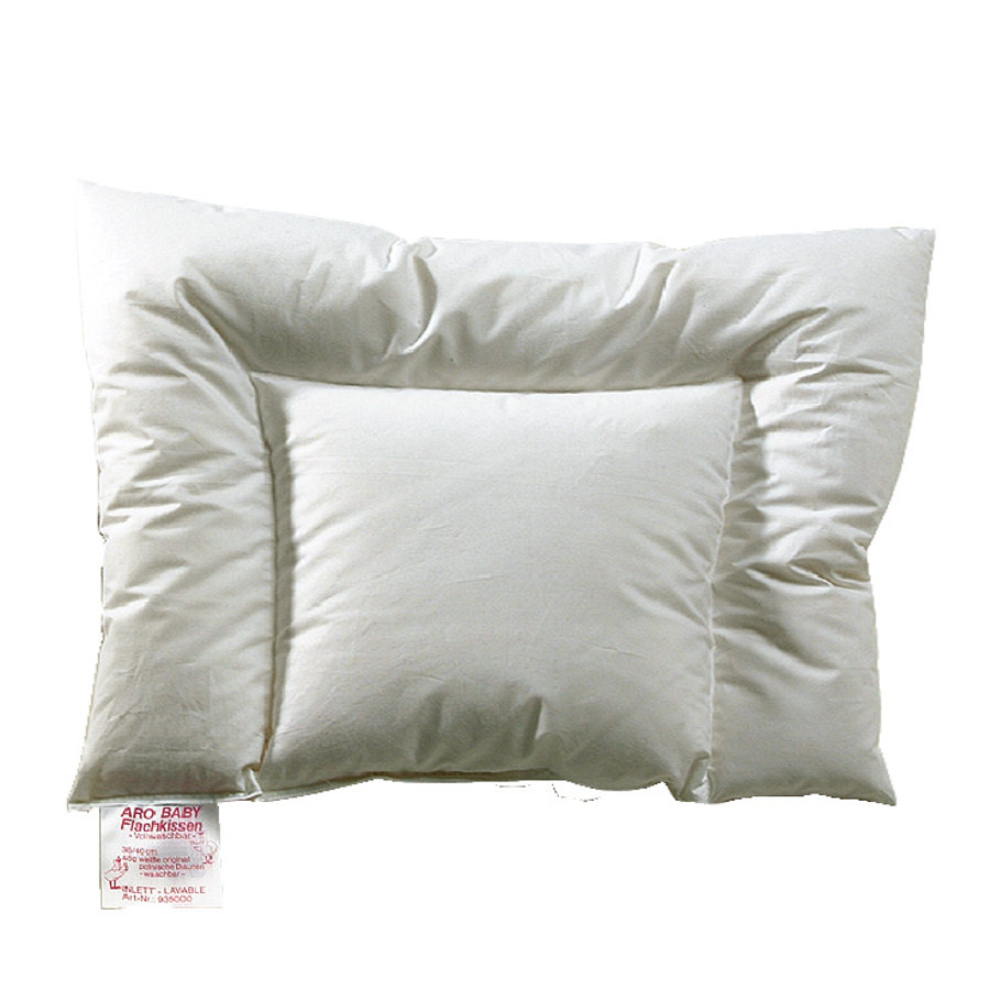 Cuscino ARO® Baby Down Flat Pillow U-Stepp 40 x 60 cm