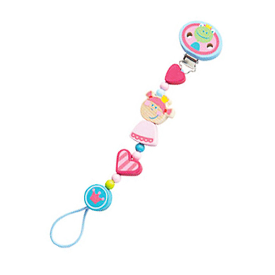 HABA Soother Chain Heart Princess