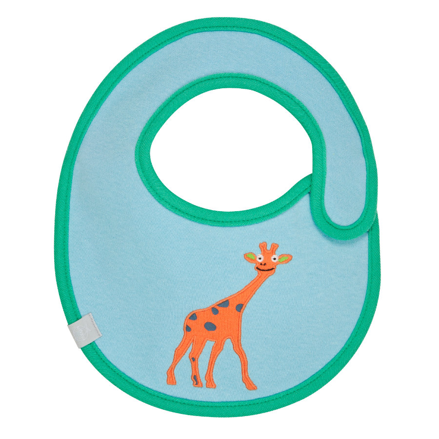 LÄSSIG Slabbetje waterproof small Wildlife Giraffe