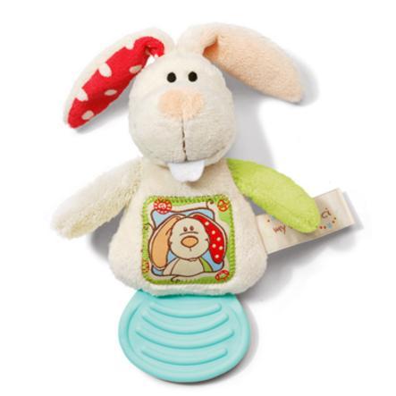 NICI Můj první králík s kousnutým kroužkem NICI