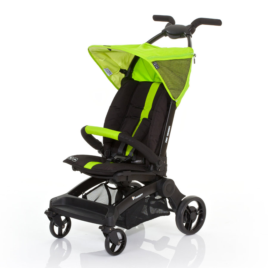 ABC DESIGN Buggy Take Off lime Collectie 2015