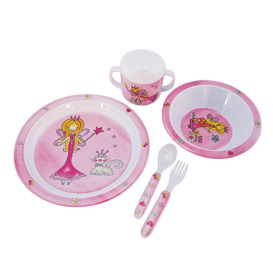 BIECO Service de table Princesse 5 pièces
