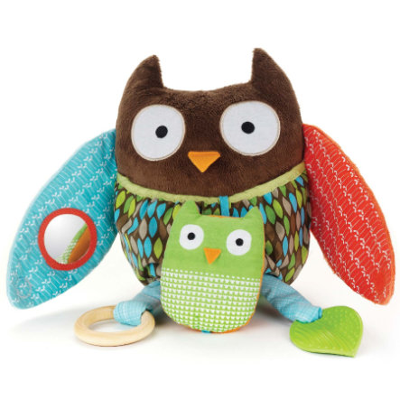 SKIP HOP Treetop Friends Hug & Hide Activity Toy Owl