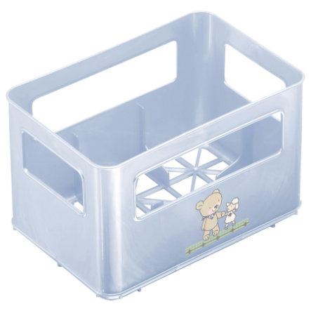 ROTHO Box for Wide-Necked Bottles - Best Friends, baby blue pearl