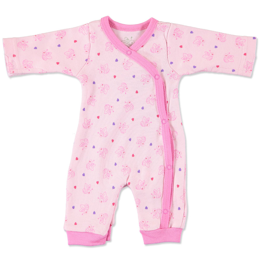 FIXONI Girls Frühchen Overall soft pink