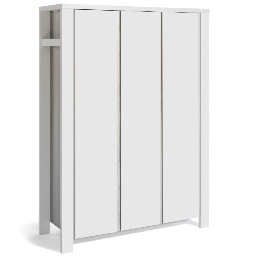 Schardt Kleiderschrank Milano weiß 3-türig