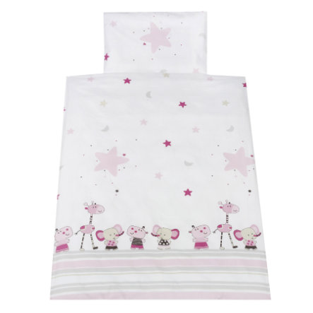 Schardt 2-delt sengetøy 100 x 135 cm Banjo Pink