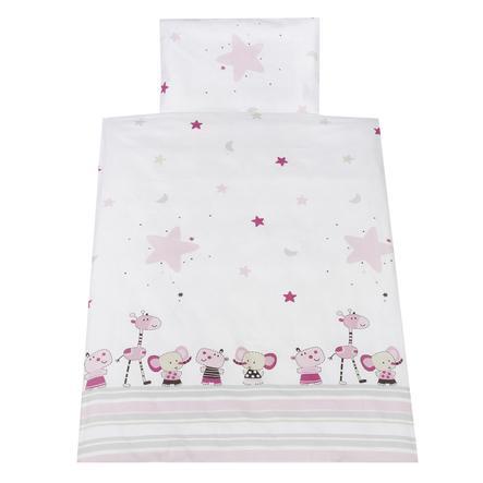 Schardt Ropa de cama 2 piezas 100 x 135 cm Banjo Pink