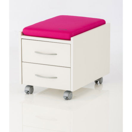 KETTLER cuscino LOGO TRIO BOX /SIT ON rosa 06775-106