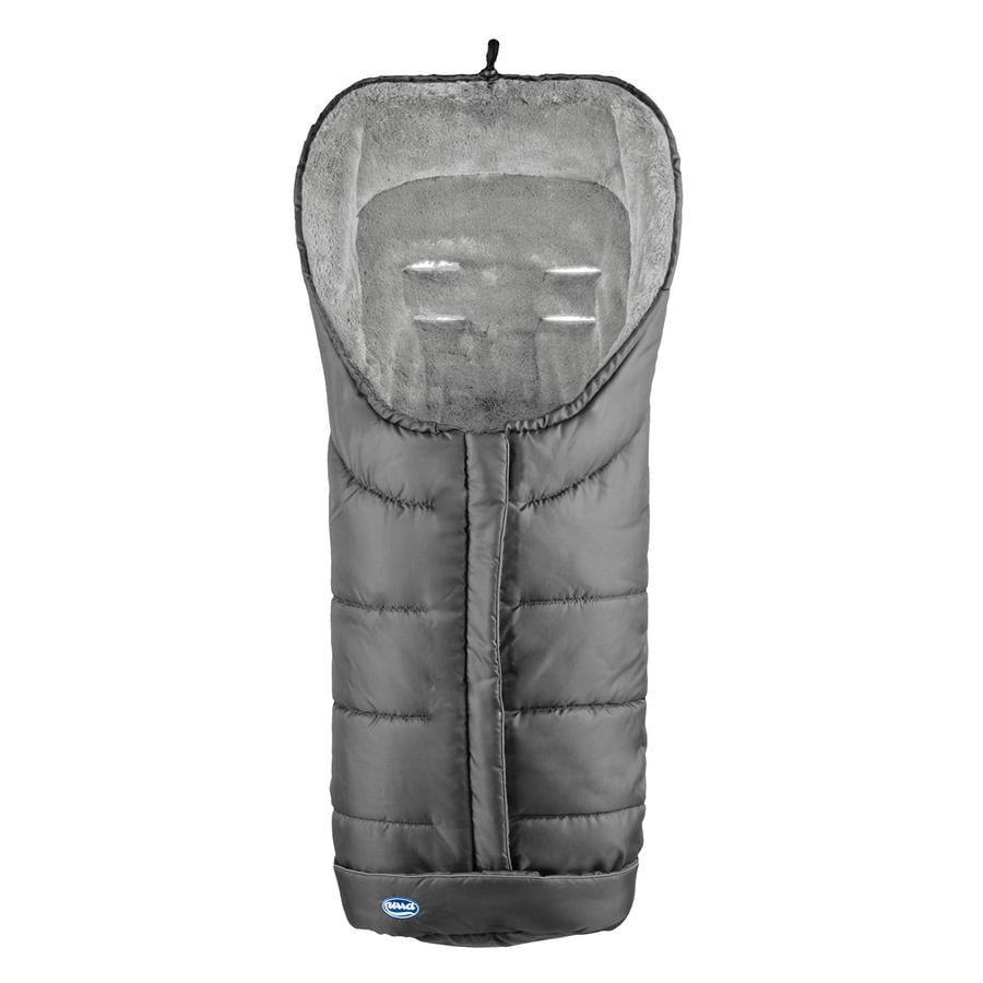 URRA Coprigambe a sacco invernale Deluxe, grigio/grigio