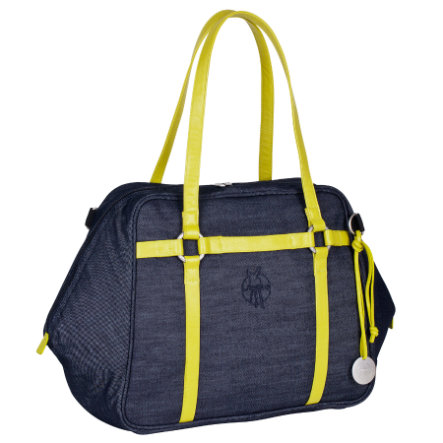 LÄSSIG Skötväska Green Label Urban Bag blue denim