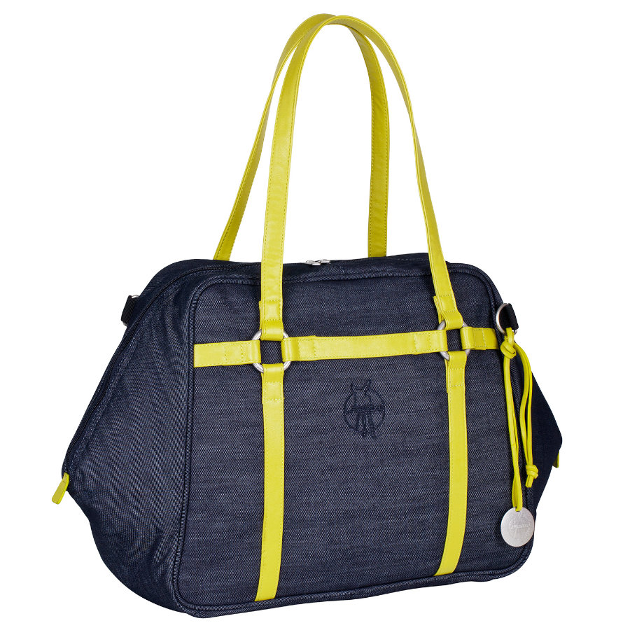 LÄSSIG Green Label Urban Bag blue denim