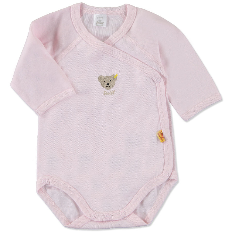 STEIFF Girls Baby Wickelbody 1/1 Arm barely pink