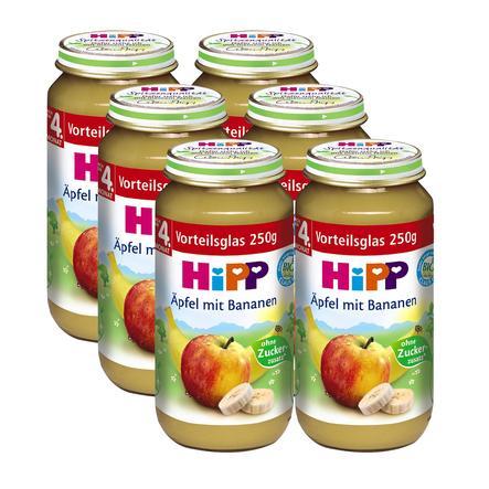 HiPP Äpfel mit Bananen 6 x 250g