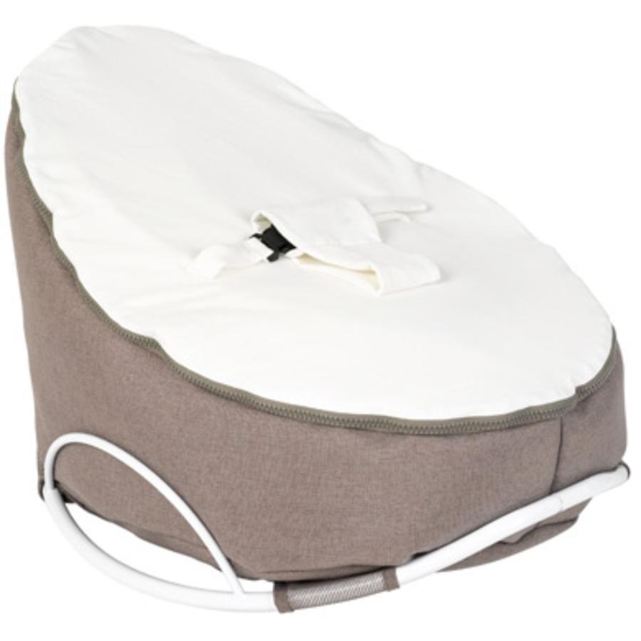 Doomoo Sitzsack Seat Original mit Swing Wippe Farbe Home Weiß