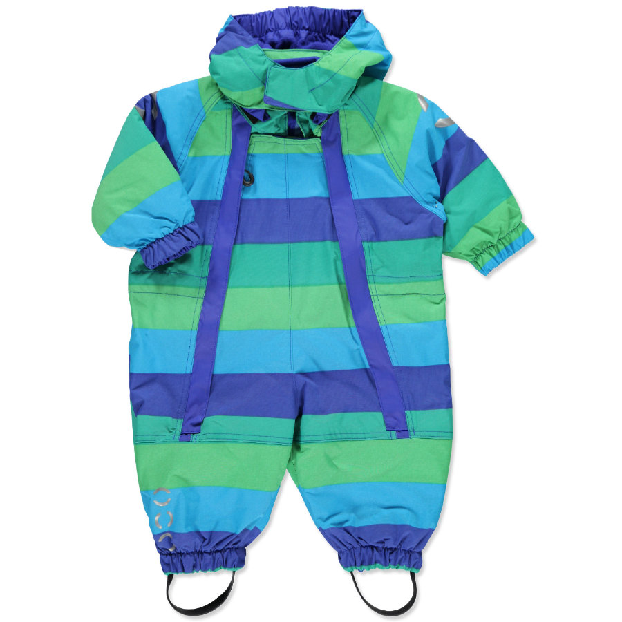 MIKK-LINE Boys Mini Schneeoverall striped