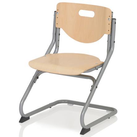 KETTLER Chaise CHAIR PLUS, Hêtre/Argent 6725-017