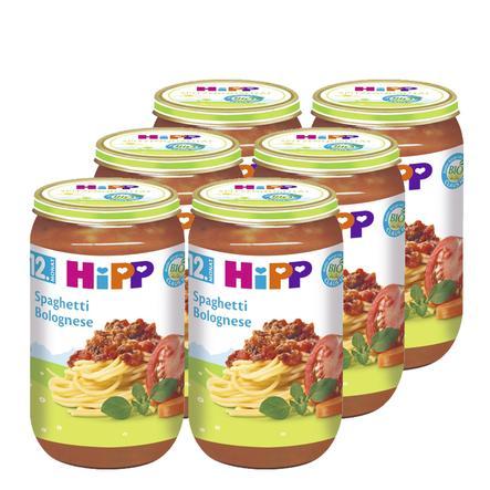 HIPP Bio Spaghetti Bolognese 6x250g
