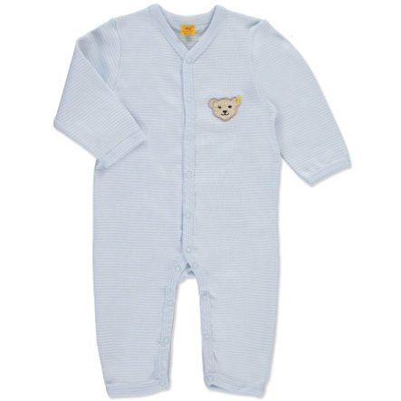 STEIFF Boys Baby Sleeping Rompers Stripes baby blue