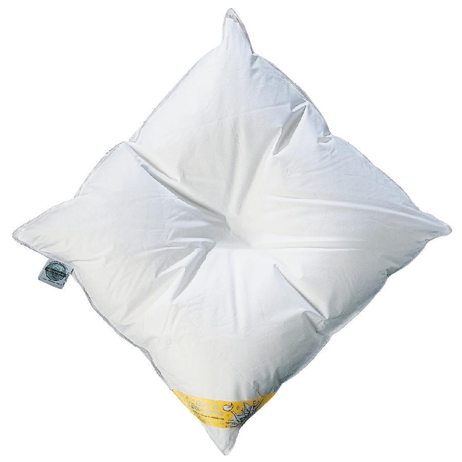 ARO Almohada de plumón para bebé Noblesse 80 x 80 cm