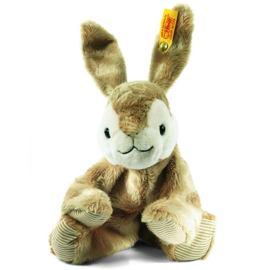 STEIFF Small Dangling Rabbit HOPPEL, lying down, 16 cm