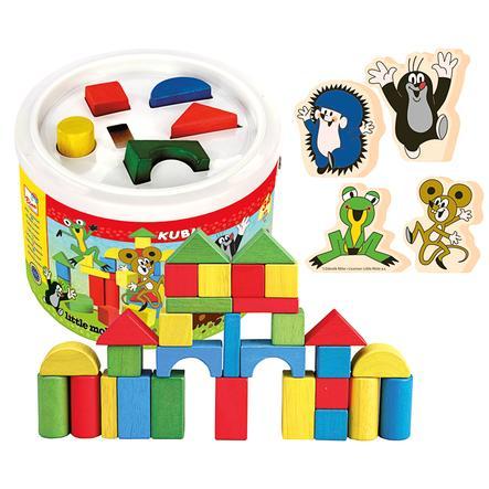BINO Building Blocks Drum - The Little Mole