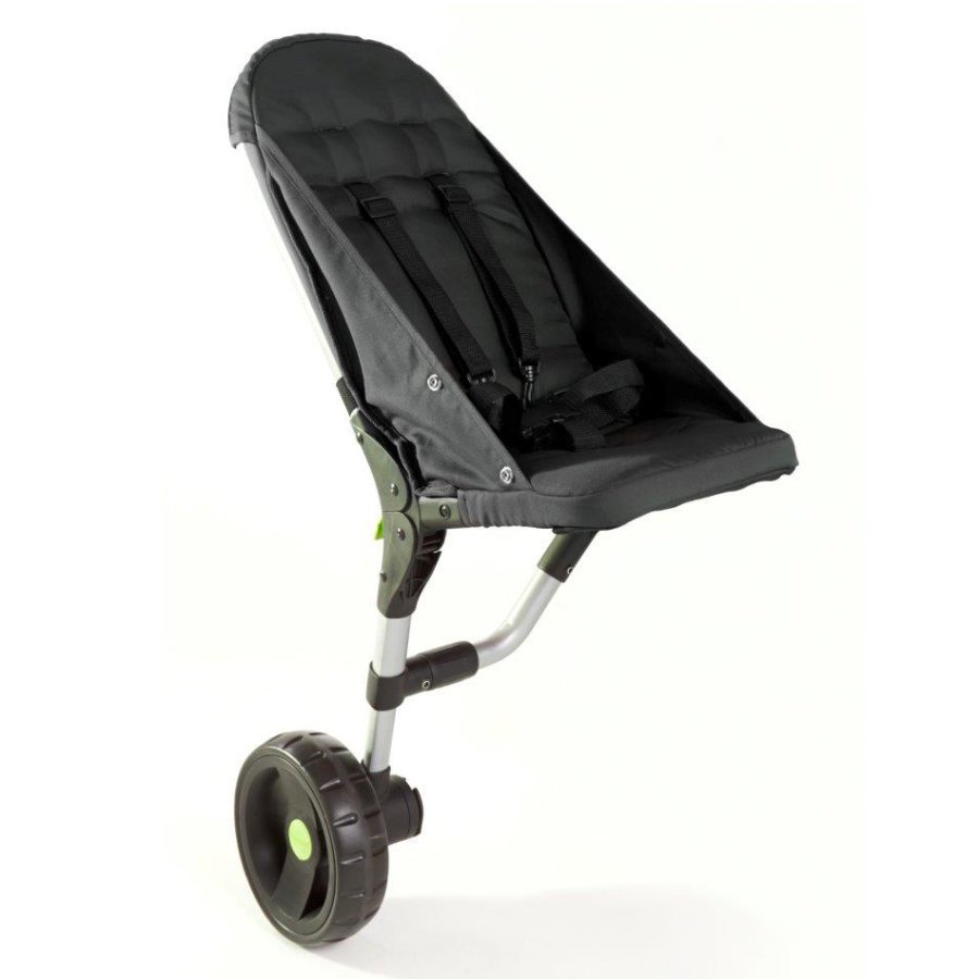 BuggyPod lite Passenger Seat for Stroller black (regular frame with 1 thick tube)
