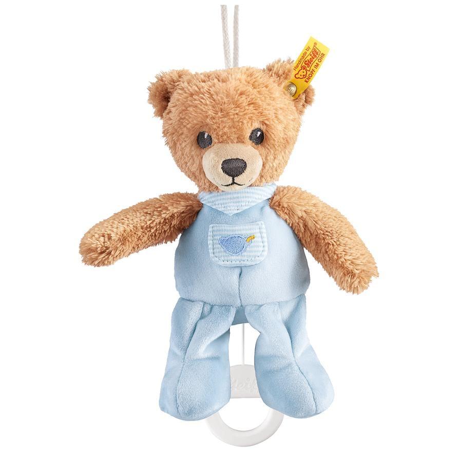 STEIFF Hrací hračka - medvídek, modrý