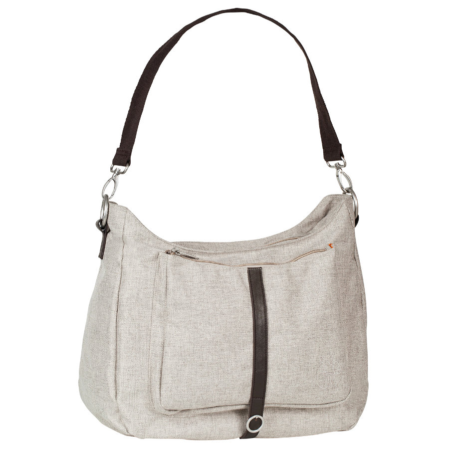 LÄSSIG Green Label Shoulder Bag choco melange