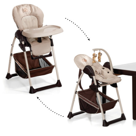 hauck Chaise haute bébé évolutive Sit`n Relax Zoo