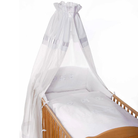 Easy Baby Bedset white Hearts (400-32)