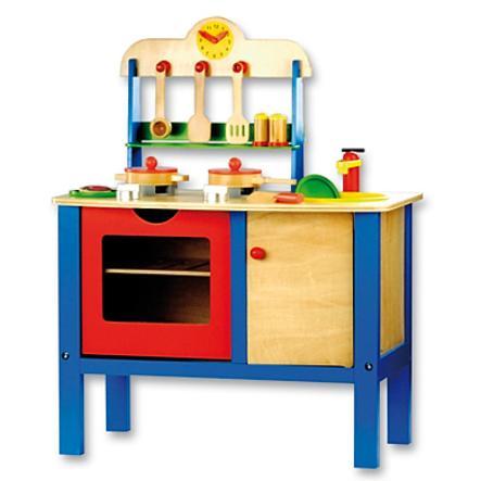 BINODětská dřevěná kuchyně 83720