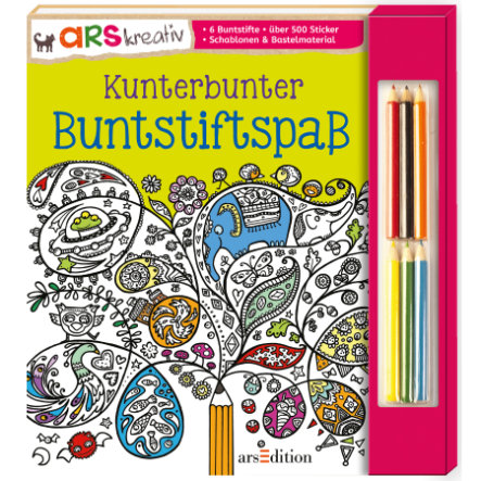 arsEdition Kunterbunter Buntstiftspaß