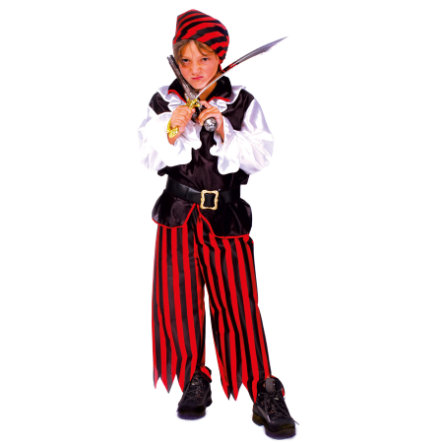FUNNY FASHION Costume di Carnevale Pirata Jacky