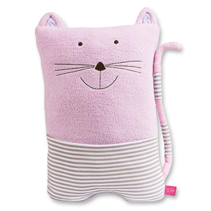 LÄSSIG Cuddly Toy CAT rosa