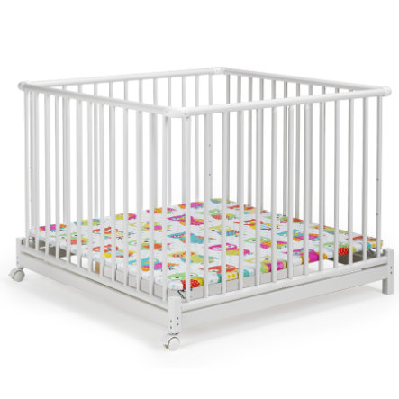 GEUTHER Playpen Euro Parc 102x102 cm (2234) white 031