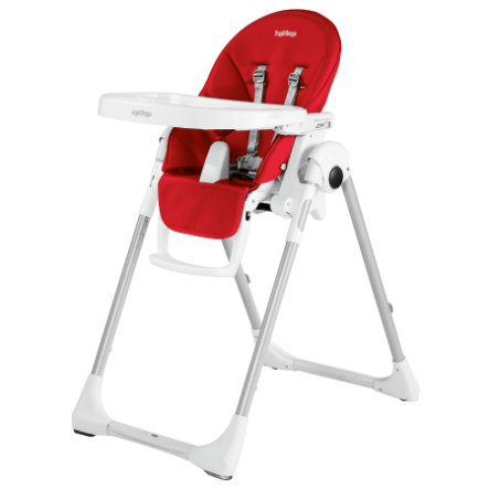 PEG-PEREGO Highchair Prima Pappa Zero3 Fragola (Imitation Leather)