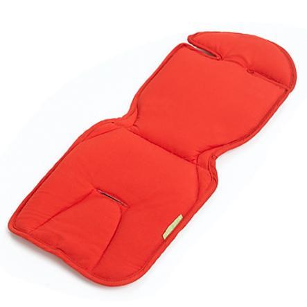 buggypod Matelas d'assise de siège passager de poussette rouge