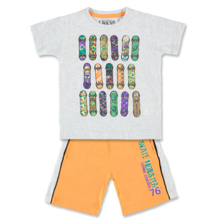 E-BOUND Boys Set 2-teilig grau/orange
