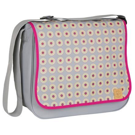 LÄSSIG Přebalovací taška Basic Messenger Bag Daisy Mid Grey