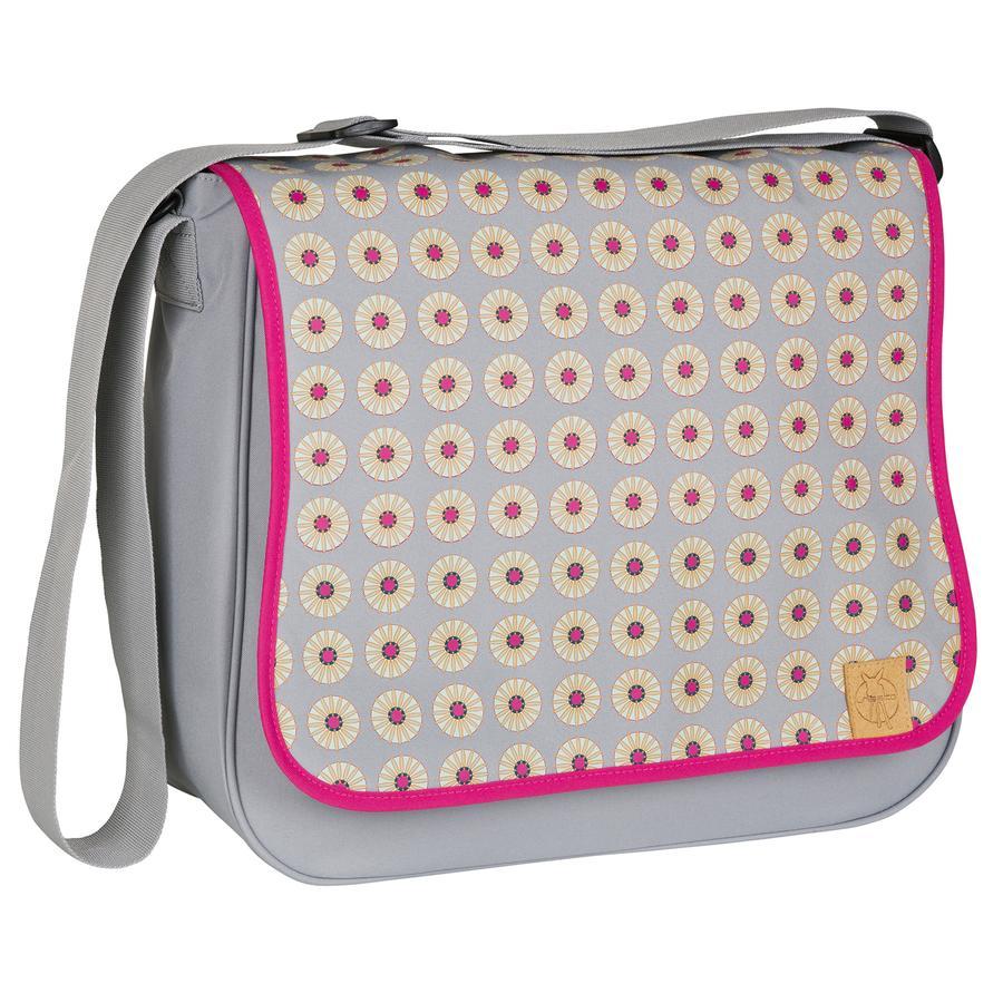 LÄSSIG Torba na akcesoria do przewijania Basic Messenger Bag Daisy Mid Grey