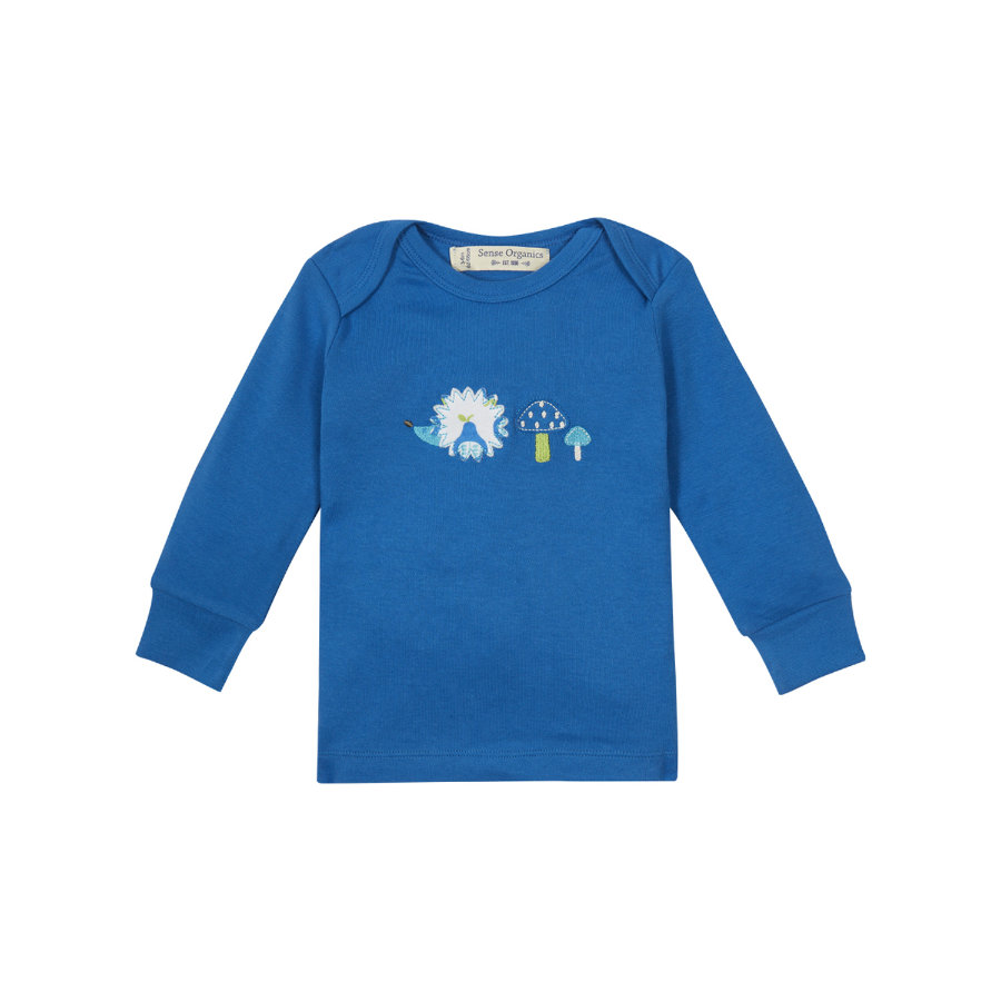SENSE ORGANICS Boys Baby Longsleeve TIMBER blue