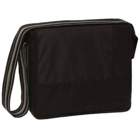 Lässig Wickeltasche Messenger Bag Classic Design Patchwork black