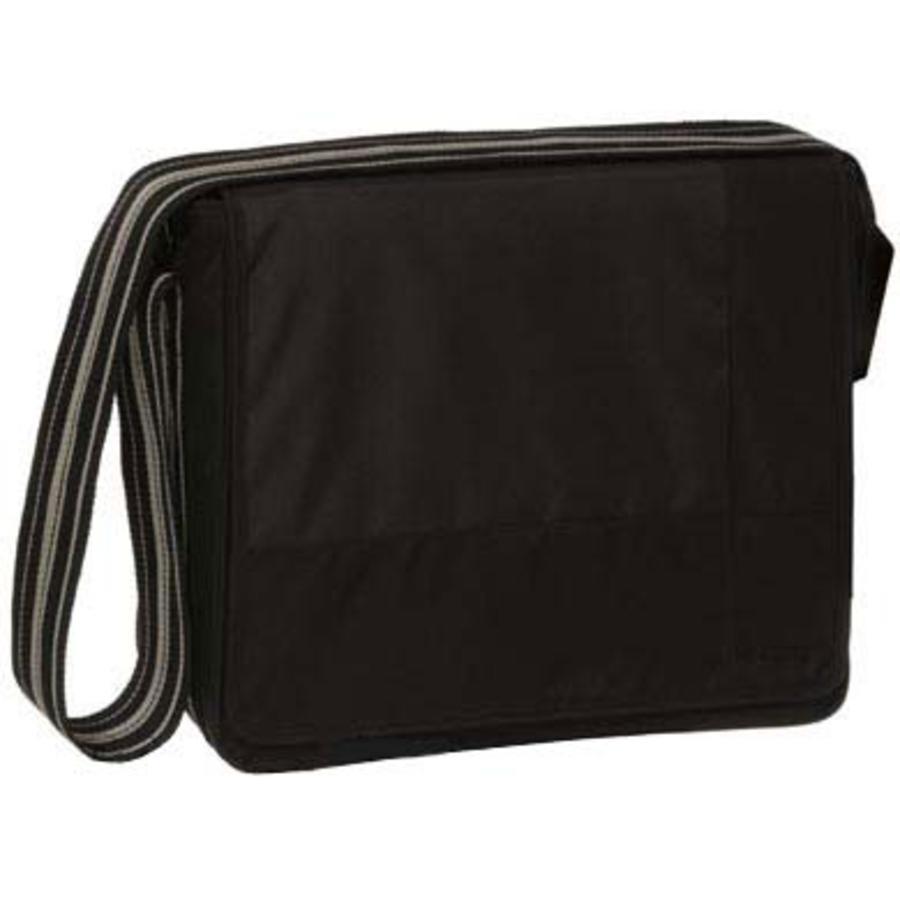 LÄSSIG přebalovací taška  Messenger Bag Classic Design Patchwork black
